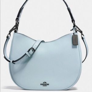 Coach Mae Purse with snakeskin strap